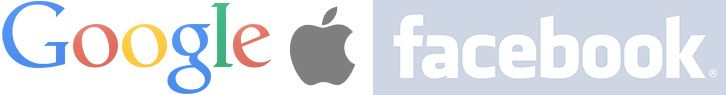 google apple facebook
