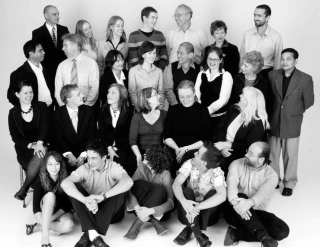 corporate group photo sydney