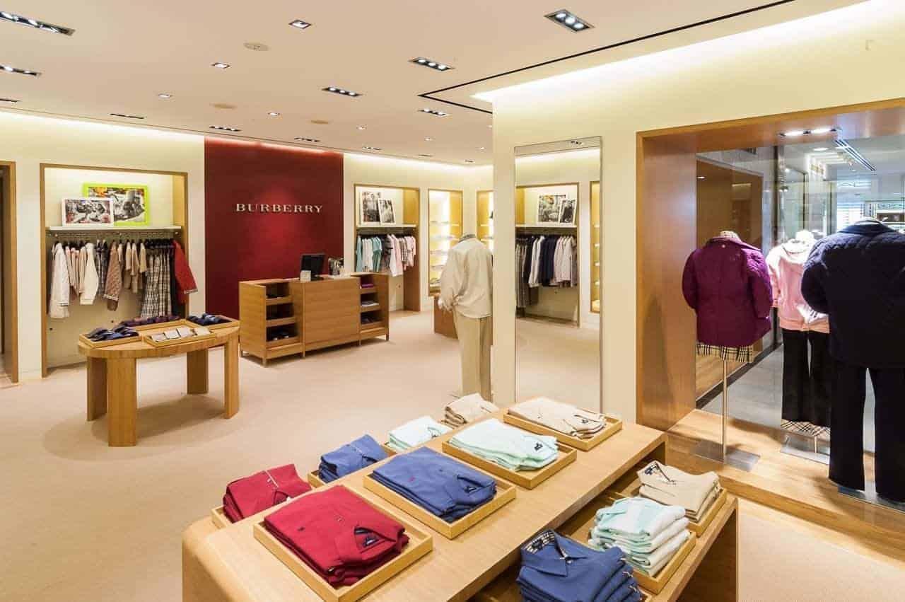 retail shop interior