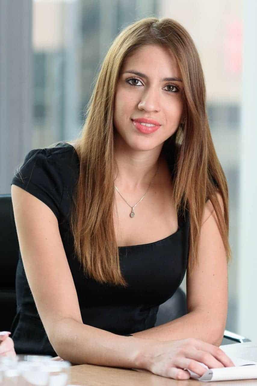 female corporate portrait