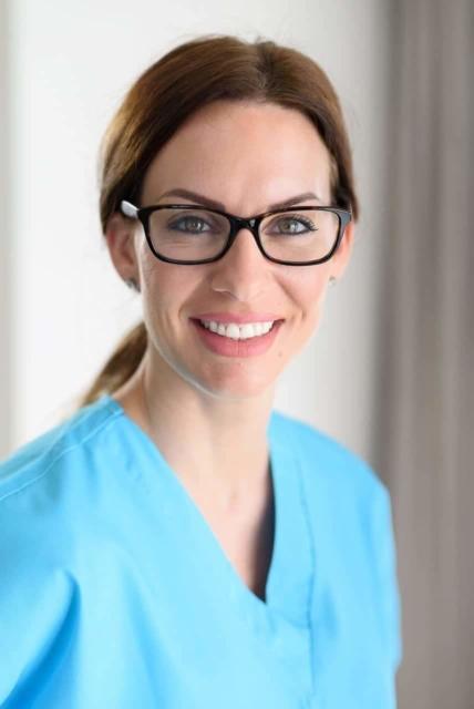healthcare professional portrait