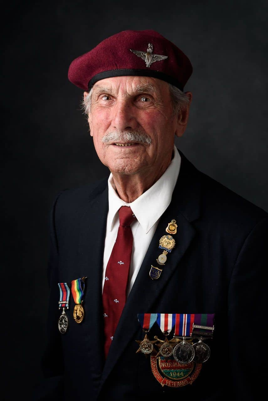Reflections: Portraits of WWII Veterans