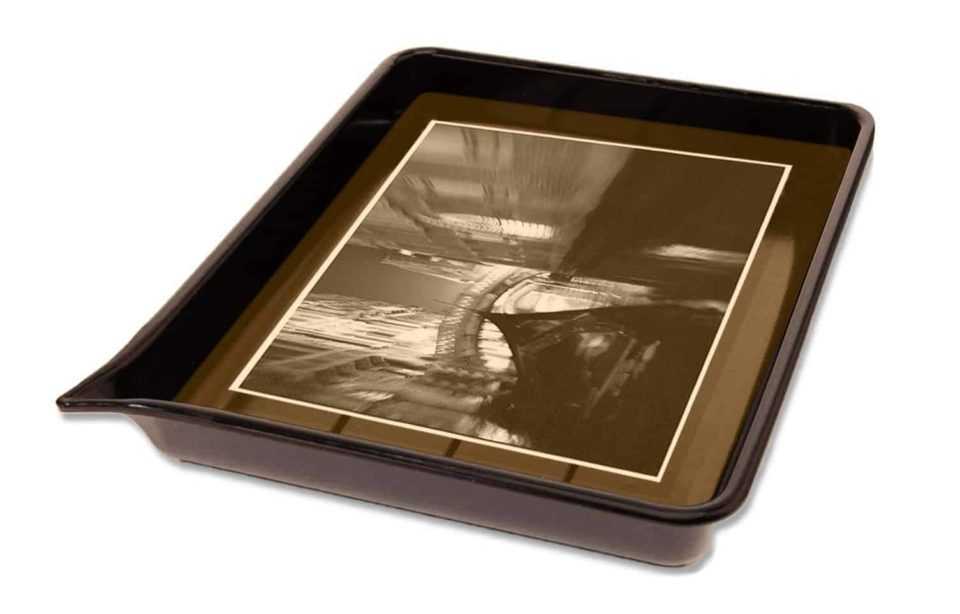 Nostalgia of the photographic darkroom