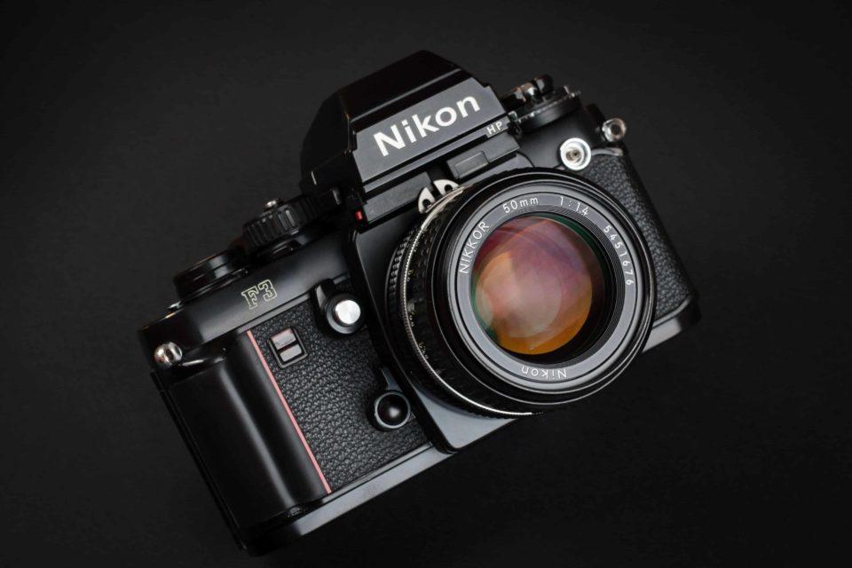 Nikon F3 designed by Giorgetto Giugiaro