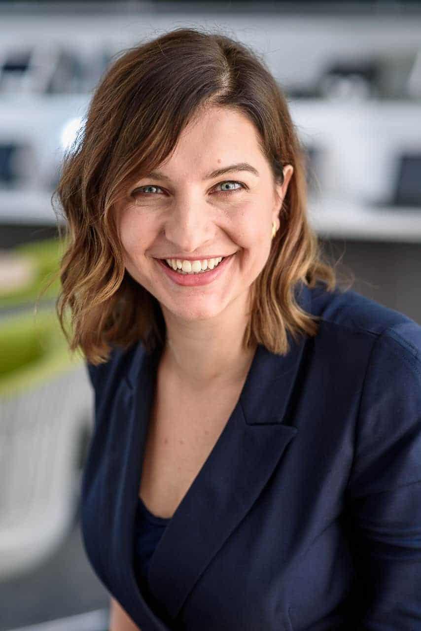 female technology executive portrait