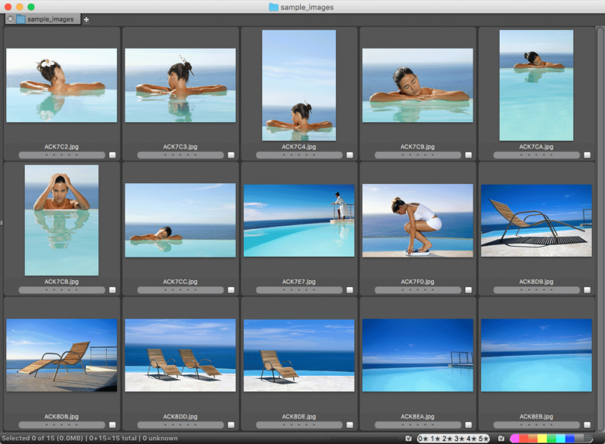 Photo Mechanic is a fast, professional Image Browser.