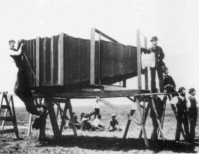George Lawrence's Giant Camera