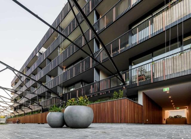apartment development photography