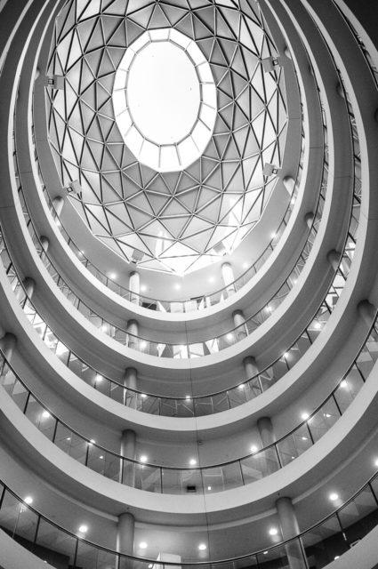 Sydney black and white architecture photo